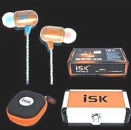 ISK SEM8 監聽耳機 高級木質 高音質 耳塞式耳機 專業耳機 RC語音送166種音效補件網路天空