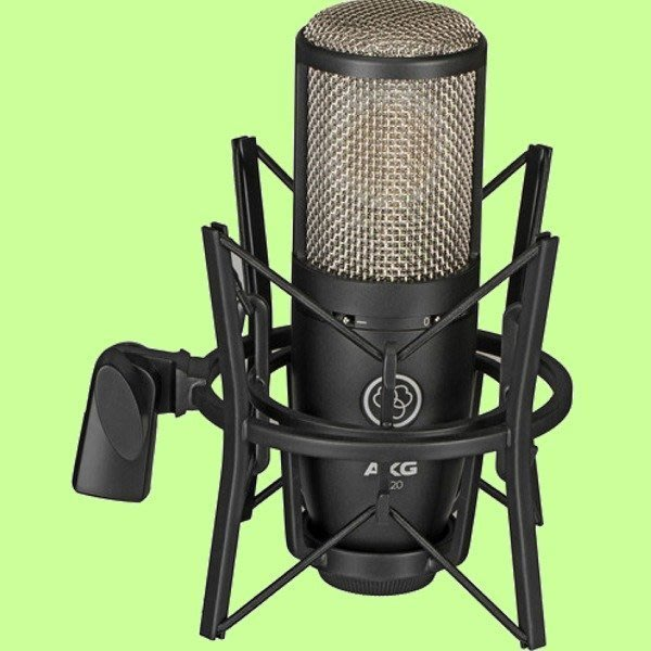 5Cgo【權宇】AKG 愛科技 PERCEPTION P220 現場/錄音室 美聲電容式麥克風含心型支架攜行盒一年保含稅