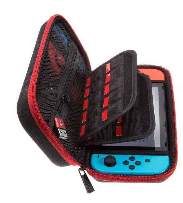 現貨 Nintendo Switch NS 任天堂 Butterfox 主機+手把收納包