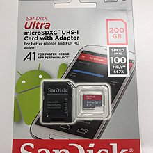 Sandisk MicroSDXC 200GB,Switch 可用