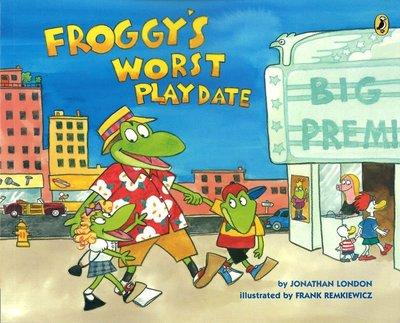 *小貝比的家*FROGGY'S WORST PLAY DATE/平裝/3~6歲