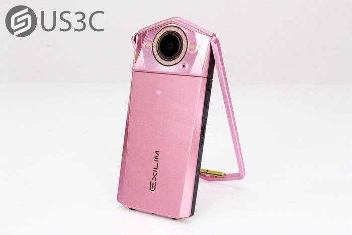 【US3C-小南門店】公司貨 卡西歐 Casio TR80 粉紅色 美肌美顏 雙LED補光燈 3.5吋觸控 自拍神器 二手相機
