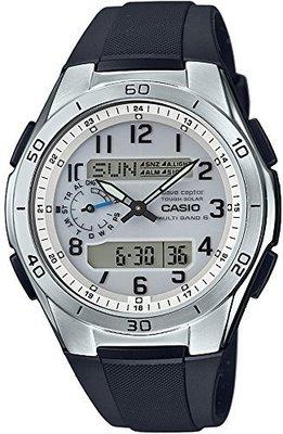 日本正版 CASIO 卡西歐 WAVE CEPTOR 電波錶 WVA-M650-7AJF 男錶 太陽能充電 日本代購