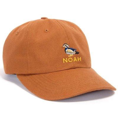全新商品 Noah NYC Land Sea Air Duck Hat 彎帽簷 老帽 鴨子 刺繡 棕色