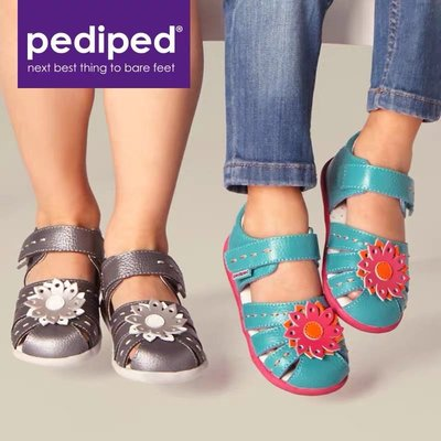 +Kids First+ pediped 美國足科醫生推薦Grip 'n' Go 第二階段學步鞋 瑪麗珍鞋