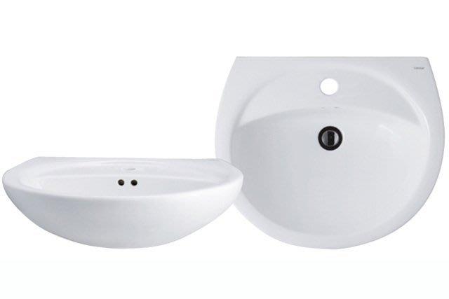 《101衛浴精品》凱撒 CAESAR 奈米抗污 壁掛式 單孔 面盆 L2220S【免運費 可貨到付款】