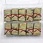 【素食系列】芋荷包(于荷包)10入(奶素)/約600g 荷葉包裹大甲芋頭內餡搭配香菇等調味料~蒸熟即可食用