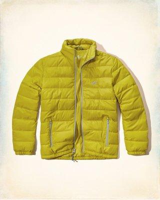 【天普小棧】HOLLISTER HCO Mock Neck Puffer Jacket立領鋪棉外套防寒外套M現貨抵台