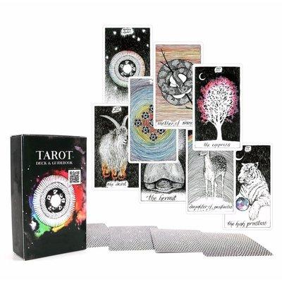 【現貨】The Wild Unknown Tarot Card占蔔卡牌 塔羅 野性塔羅牌 命運經典占蔔英文版卡牌  星期八雜貨鋪GJTYU