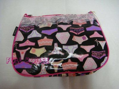 FULL HOUSE 】日本SHIN&Company大人氣羅莉塔款少女褲圖騰 化妝包 199 起標