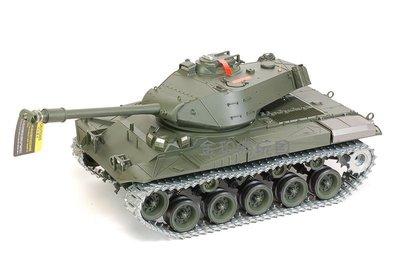 JHS((金和勝玩具))1:16 U.S.M41A3 金屬履帶.齒輪箱2.4G版 聲光冒煙 遙控戰車 4112 S