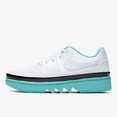 AJ 1 JESTER XX LOW LACED 黑白綠 舒適 耐磨 緩震 增高 繫帶 慢跑鞋 CU1255 女鞋