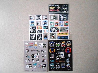 漫畫精品 Sanrio Bad Badtz-maru 企鵝 XO 貼紙 Stickers E組 4款 每款HK$20 全要HK$70 Made in Japan