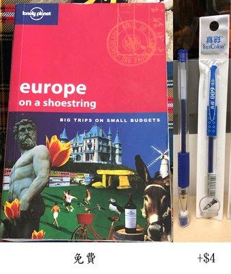 (二手)Europe on a Shoestring: Big Trips on Small Budgets (Lonely Planet)