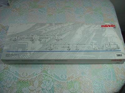 德國馬克林 marklin HO 2863 火車模型組,商品如圖如新,實品拍攝,品相超優,買到賺到【A6】