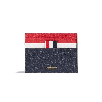 THOM BROWNE SS20 DOUBLE SIDED CARD HOLDER W