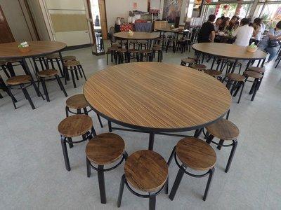 【鐵木創】美耐板 美耐皿 貼皮 餐桌 耐刮  餐桌椅組  圓桌 飯桌  書桌 休閒桌  營業用 台中市