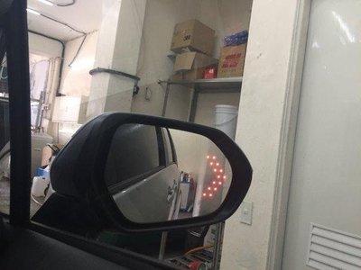 (柚子車舖)福斯 GOLF5 GOLF6 GOLF7  鉻鏡LED方向燈加電熱除霧後視鏡片(專用卡榫式)