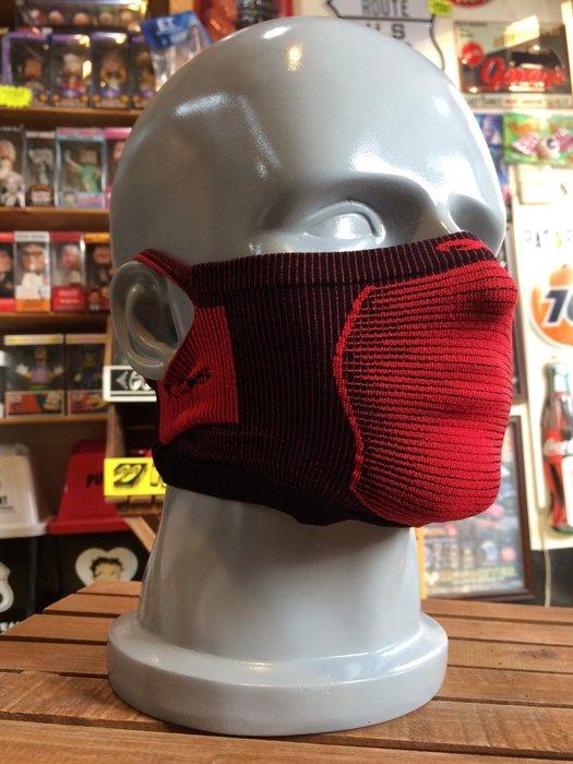 (I LOVE樂多)Naroo Mask 紅色短版X5騎行運動 面罩 單車 哈雷 越野 滑胎 偉士 VESPA Cafe