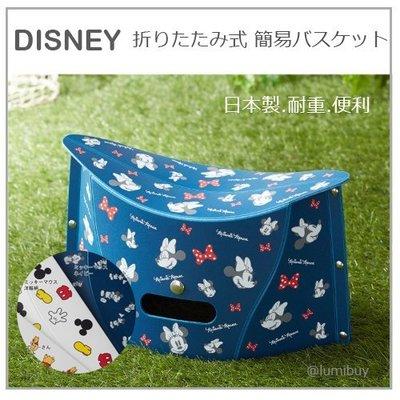 【日本製】日本直送 DISNEY 迪士尼 米奇 維尼 米妮 折疊椅 紙片椅 露營 登山 野餐 戶外 輕量 便利 7款