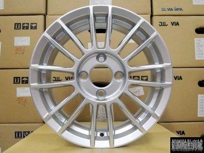 【CS-993】全新鋁圈 類 SPOON 14吋 4孔100 / 6J / ET38 高亮銀 無限 MUGEN