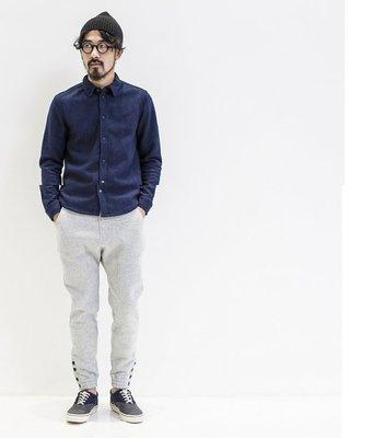 日本 呢料 牛仔藍襯衫 外套 夾克 厚重的喔 不是薄款 6折下殺