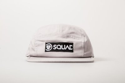 (MARVELOUS) SQUAD 2017 S/S BOX LOGO 5 PANEL CAP 貼布五片帽 灰色