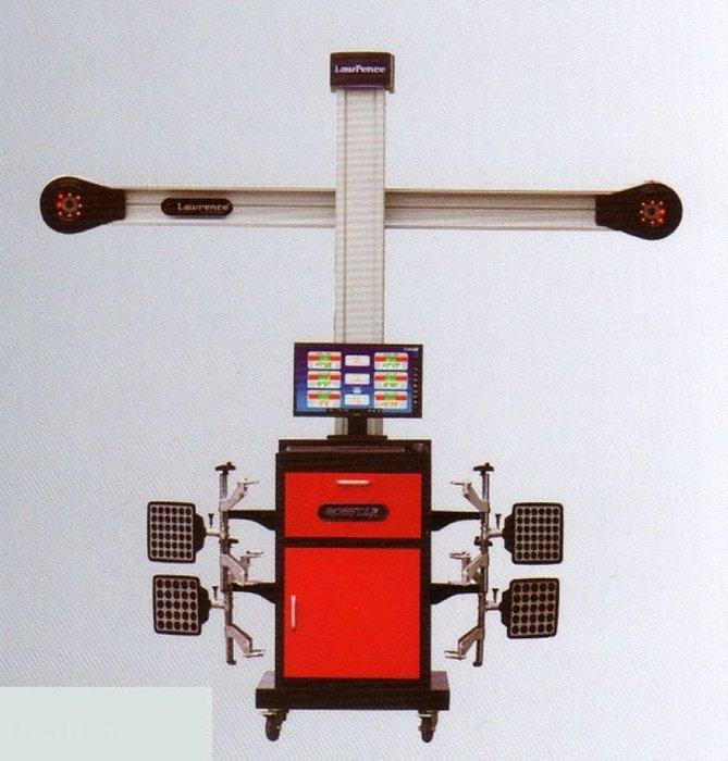 【鎮達】汽車維修設備 ~ 美國勞倫斯 3D 四輪定位儀 V-300