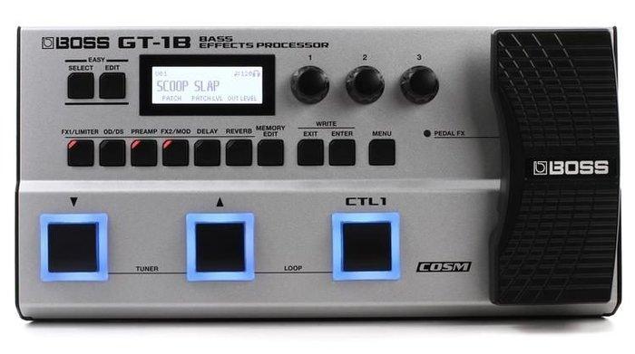☆ 唐尼樂器︵☆ Boss GT-1B (公司貨原廠保固/附原廠變壓器)地板型 Bass 綜合效果器 GT1B