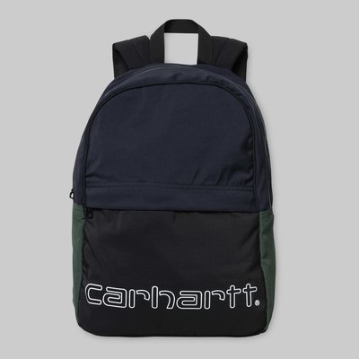 【Shopa】現貨 Carhartt WIP Terrace 拼接色塊 經典 Logo 後背包 3色