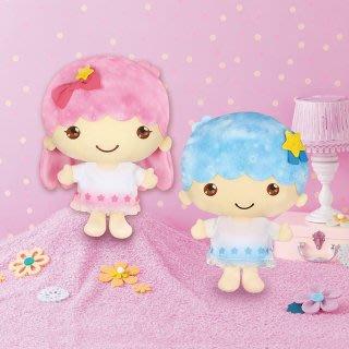 4165本通 日本 景品 FURYU 雙子星 絨毛娃娃 一對 AMU-PRZ10634 下標前請詢問