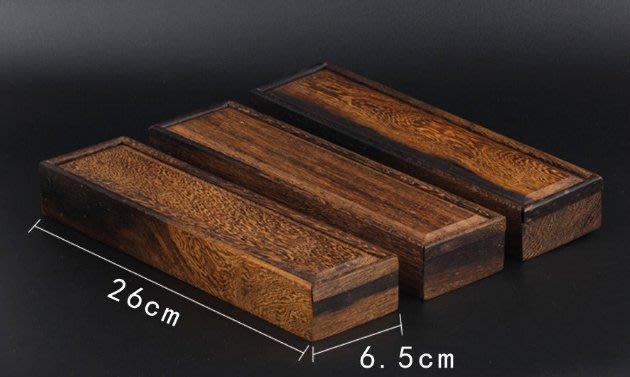 【雞翅木線香禮盒】花梨木雞翅木禮盒香桶香插香盒紅木線香筒20克裝