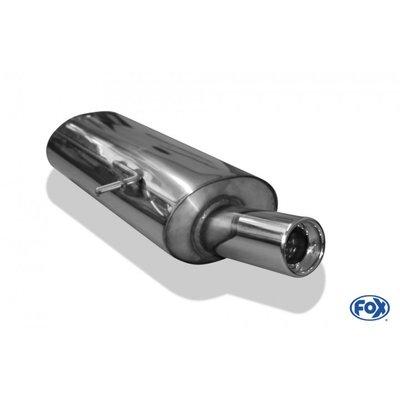 DIP 德國 Fox 排氣管 VW 福斯 Sharan 7M 2.0 2.8 TSI 1.9 TDI 尾段 單邊 單出 圓形 專用 95-10