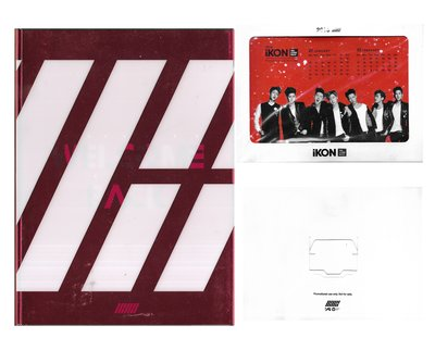 IKON / DEBUT FULL ALBUM:WELCOME BACK(附:2016年曆)