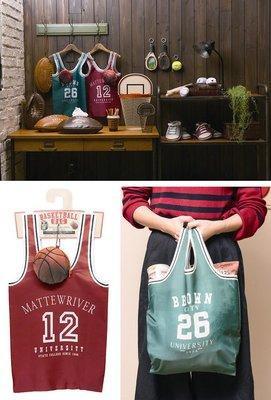(預購商品) 牛牛小舖**日本空運代購 可收納折疊式籃球服購物袋