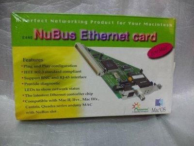 全新Apple E440 Macsense NuBus Ethernet Card 10Mbps LAN 乙太網路卡