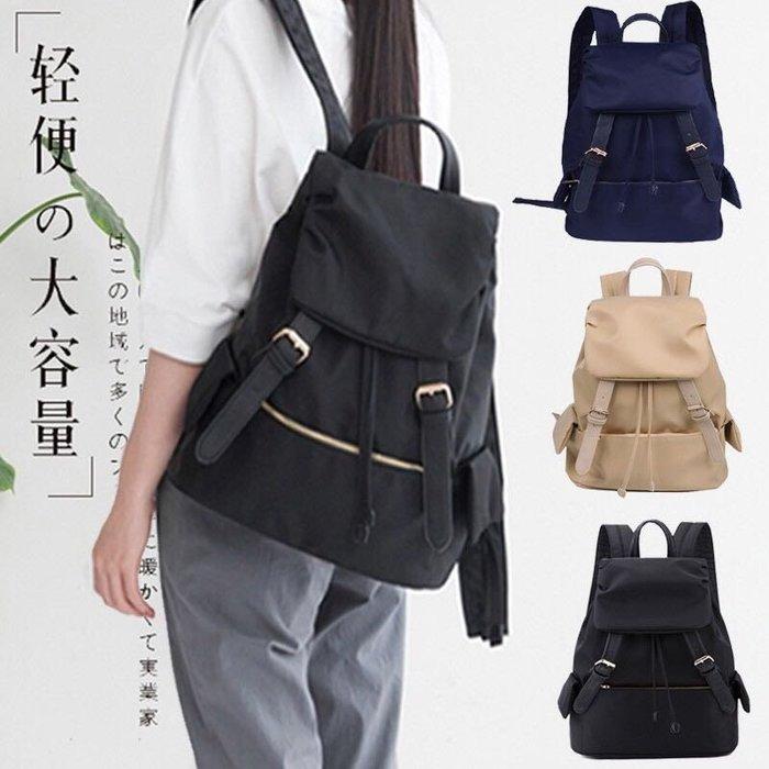 免運👍 束口韓版後背包 尼龍後背包 書包 後背包 媽媽包 肩背包 電腦包 包包 女包 防水後背包 女生包包 背包
