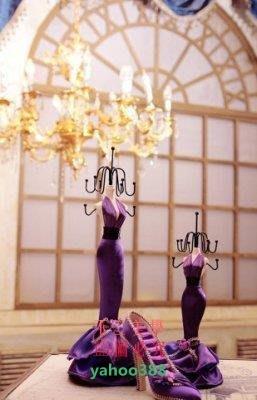 美學94紫色3件套精品禮盒裝 歐式公主...
