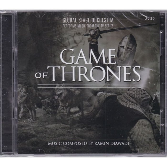 歐版2CD《冰與火之歌 - 權力遊戲》音樂精選輯 /Performs Music from the Game of Th