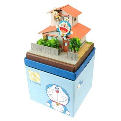 日本正版 Sankei 哆啦A夢 mini 紙模型 需自行組裝 MP08-09 日本代購