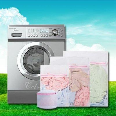 ☜shop go☞  洗衣網 內衣袋 分隔袋 40x50CM 護洗袋 包邊加厚 分裝袋  被單 衣物 洗衣袋【Z032】
