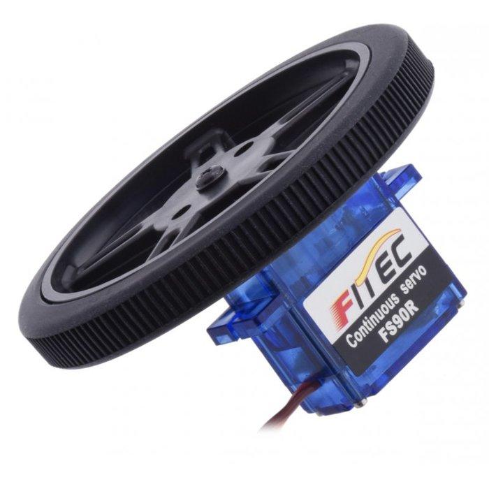 Servo Wheel 伺服馬達輪子 舵機橡膠輪 (不含伺服馬達)