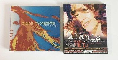 Alanis Nadine Morissette 艾拉妮絲莫莉塞特~under rug swept, 亂了專輯!二手九成新!
