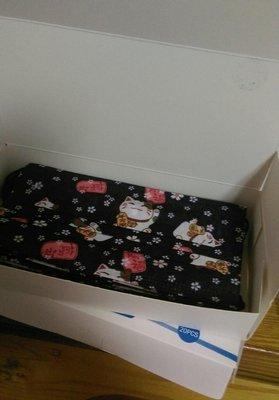 盒裝10片入(無內袋)招財貓成人口罩