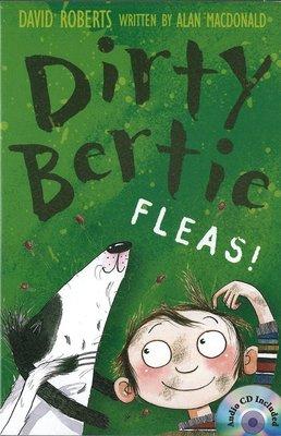 *小貝比的家*DIRTY BERTIE FLEAS/平裝書+CD/7~12歲