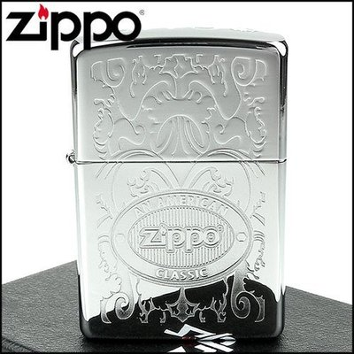 ☆哈洛德小舖☆全新【ZIPPO】美系~Double Lustre加工-頂部Logo打印打火機NO.24751
