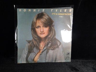 乖乖@賣場LP黑膠唱片12吋西洋黑膠Bonnie Tyler It's A Heartache (Austrailia)