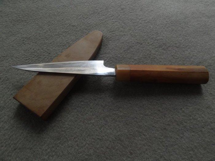 **黑熊古玩藝品**日本庖丁特別訂製手工料理刀