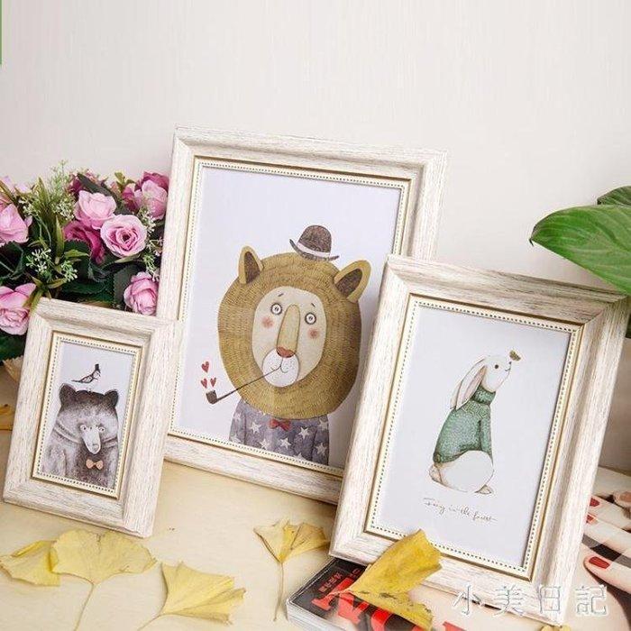美歐式婚紗相框創意5 6 7 8 10 16寸8K16KA3A4畫框擺臺掛墻 qf8552