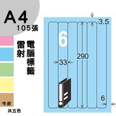 【免運】龍德 電腦標籤紙 6格 LD-880-B-B  淺藍色 1000張 列印 標籤 三用標籤 出貨 貼紙 有其他規格
